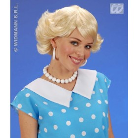 Audrey Wig - Blonde - Fancy Dress
