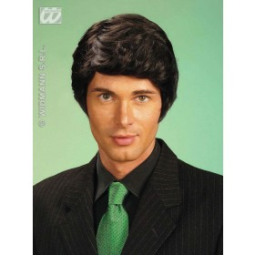 Rick Wig Black - Fancy Dress