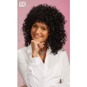 Gabrielle Wig Black - Fancy Dress