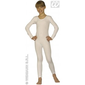Child Size Bodysuits W/Long Sleeves - White Fancy Dress