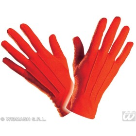 Gloves Short Red - Fancy Dress