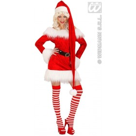 Velvet Extralong Santa Claus Hat 150Cm - Fancy Dress (Christmas)