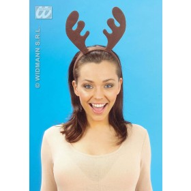 Reindeer Headband - Fancy Dress (Christmas) Sanc1511A