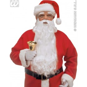 Deluxe Maxi Santa Beard Moustache/Eyebrows Costume (Christmas)