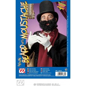 Deluxe Beard With Moustache - Fancy Dress