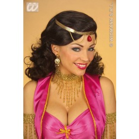 Beaded Choker Gold - Fancy Dress