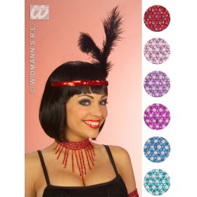 Beaded Choker 6Cols - Fancy Dress