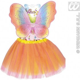 Pixie Sets Tutu & Wings - Fancy Dress