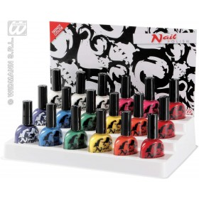 Nail Polishes 7Ml 8 Colour Asst - Fancy Dress