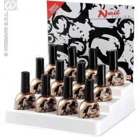 Nail Polish Gold 7Ml - Fancy Dress