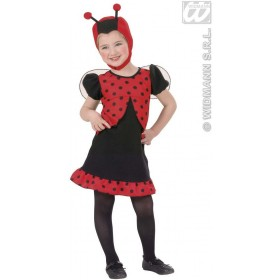 Ladybug Toddler Costume Costume Kids Age 3-4 (Animals)
