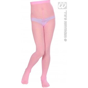 Pantyhose Child Sizes - Pink - Fancy Dress Girls