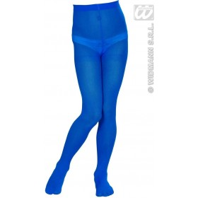 Pantyhose Child Sizes - Blue - Fancy Dress Girls