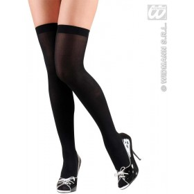 Xl Over Knee Socks 70 Den - Black - Fancy Dress