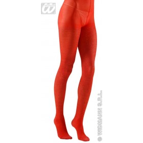 Xl Pantyhose Glitter 40 Denier Red - Fancy Dress (Christmas)