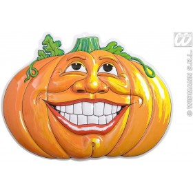 3D Smiling Pumpinks - 52.5X49Cm - Fancy Dress (Halloween)