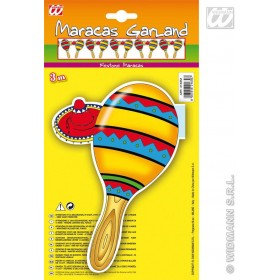 Maracas Garlands - 3M - Fancy Dress