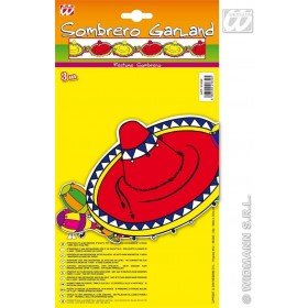 Sombrero Garlands - 3M - Fancy Dress