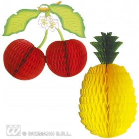 Honeycomb Fruit Decoration - Fancy Dress