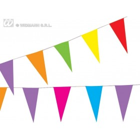 Paper Flag Garland 10Mtr - Fancy Dress