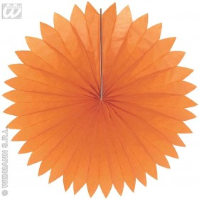 Paper Fans Unicolour 50Cm - Fancy Dress