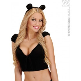 Velvet Mouse Ears - Fancy Dress (Animals)