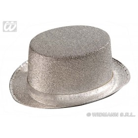 Felt Topper Silver Lame - Fancy Dress