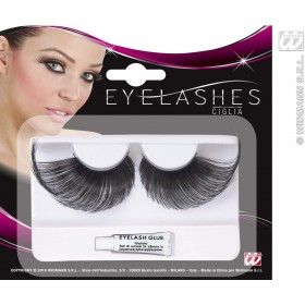 Eyelashes Extralong - Black - Fancy Dress