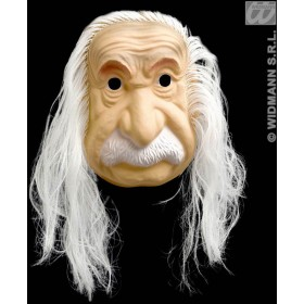 Einstein Masks With Hair - Fancy Dress