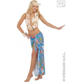 Waikiki Hawaiian Set Deluxe - Fancy Dress (Hawaiian)