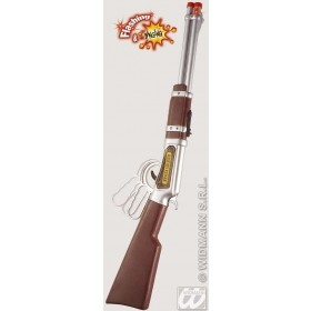 Cowboy Rifle Flashing/Banging 63Cm - Fancy Dress (Cowboys/Indians)