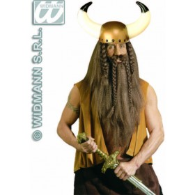 Viking Helmet - Fancy Dress (Viking) Sanc2810W