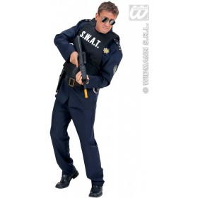 S.W.A.T. Vests - Adult Size Fancy Dress Costume (Cops/Robbers)
