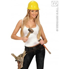 Pvc Builder Hat - Fancy Dress
