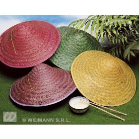 Straw Vietkong Hat Fancy Dress