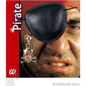 Pirate Eyepatch Earring Set - Fancy Dress (Pirates)