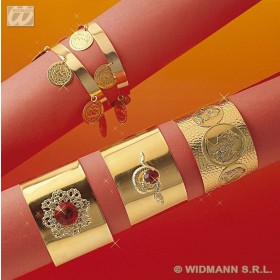 Roman Bracelets Asstd - Fancy Dress (Roman)
