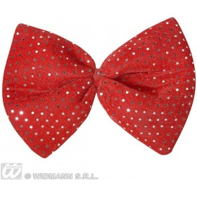 Maxi Bow Ties Velvet Sequin 4 Colours - Fancy Dress