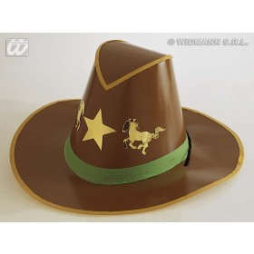 Cowboy Hat Cardboard - Fancy Dress (Cowboys/Indians)