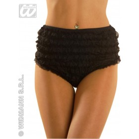 Lace Panties Black S/M/L Fancy Dress Costume