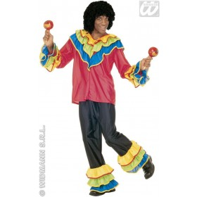 Brasileiro With Shirt, Pants Fancy Dress Costume Mens (Cultures)