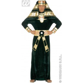 Pharaoh Costume Adult Velvet Fancy Dress Costume Mens (Egyptian)