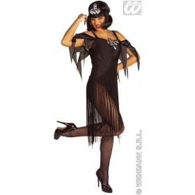 Chicago Girl, With Dress, Headband Red Or Black Costume (Cultures)