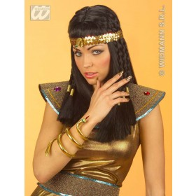 Egyptian Snake Headband Sequinned - Fancy Dress