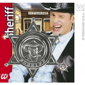 Sheriff Star Badge - Fancy Dress