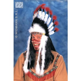 Indian Headress Sitting Bull - Fancy Dress (Cowboys/Indians)