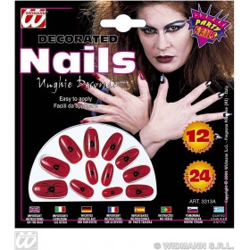 Printed Nails - Fancy Dress