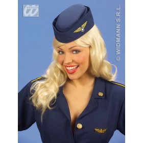 Flight Attendant Hat - Fancy Dress