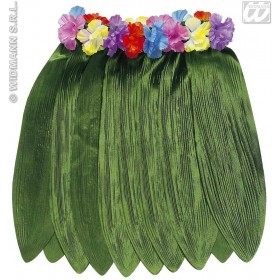 Banana Leaf Hawaiian Skirt 40Cm - Fancy Dress (Hawaiian)