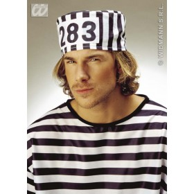 Prisoner Hat - Fancy Dress (Cops/Robbers)